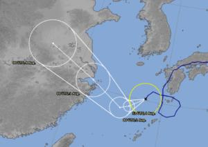 Typhoon no.12 from Japan Bureau of Meteorology